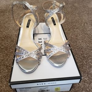 Alex Marie Strappy Heels
